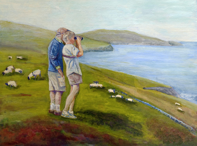 View From Dingle Ireland/Sold - Copyright Marcia Feller2006